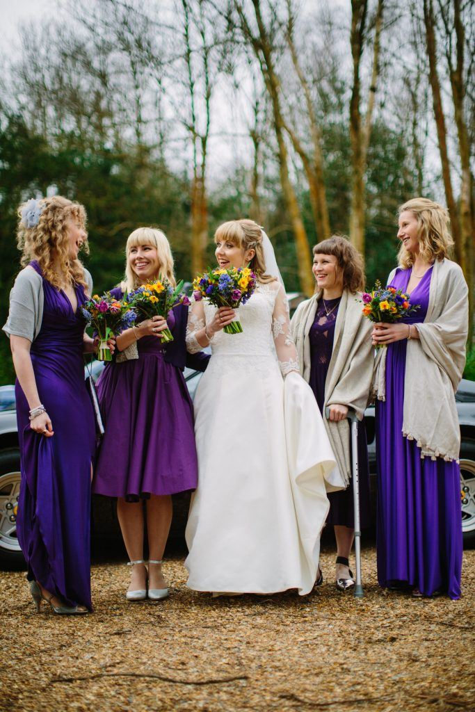 Buxted Park Winter Sussex Wedding