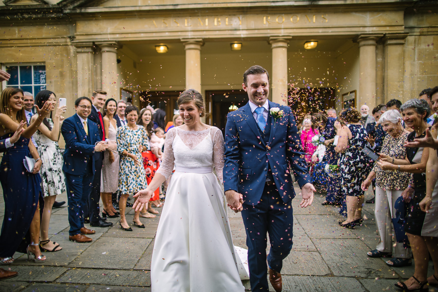 Bath Assembly Rooms Summer Somerset Wedding - Nisha Haq Photography