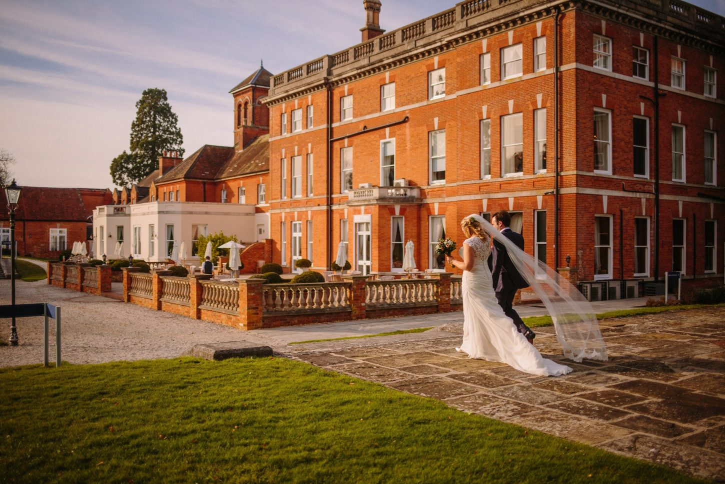 Oakley Hall Autumn Wedding - Nisha Haq Photography