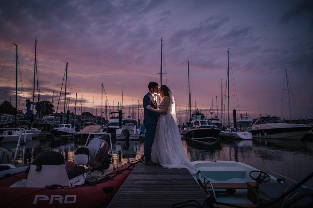 Royal Southern Yacht Club Summer Southampton Wedding