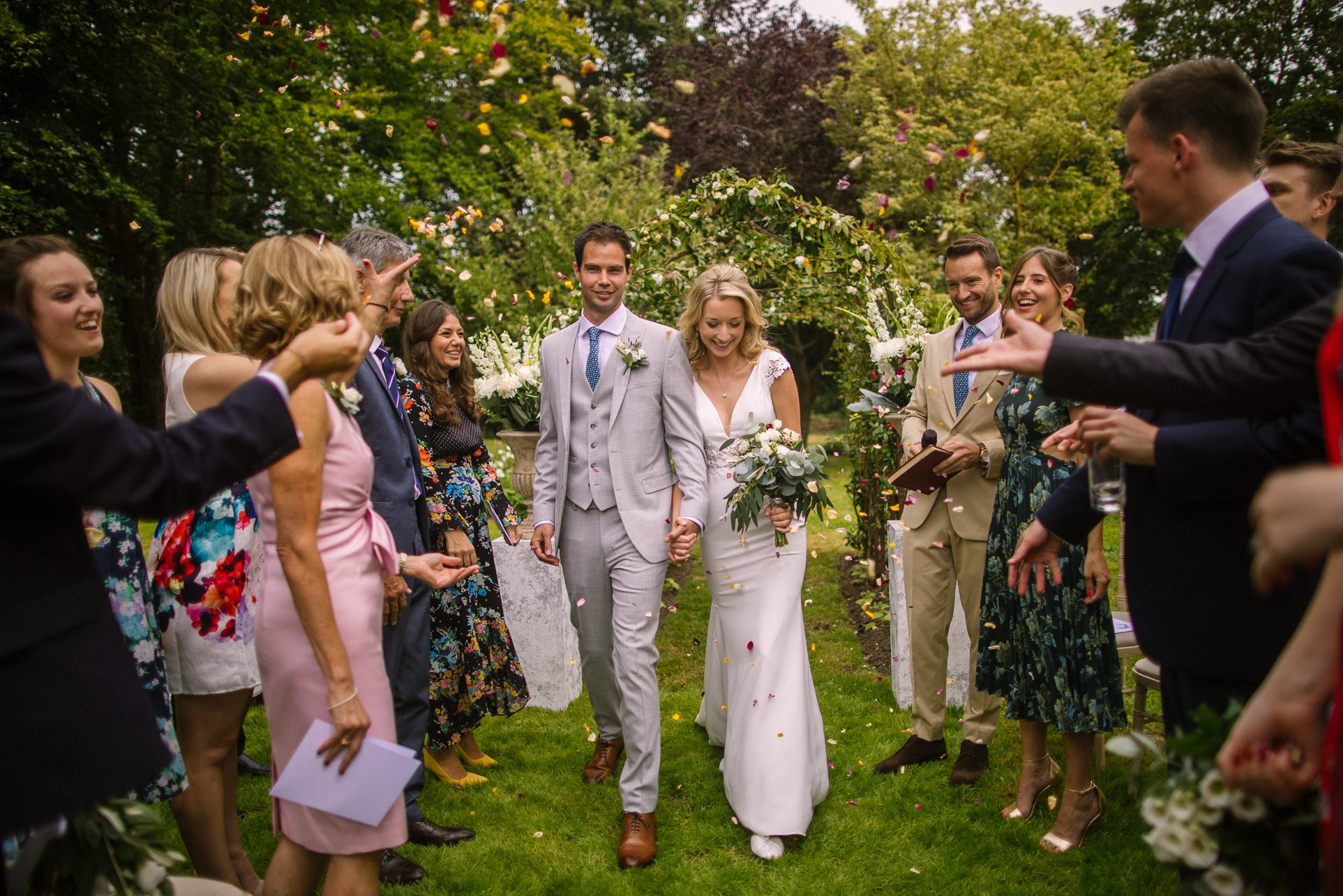 Hartley Wintney Hampshire Garden Summer Wedding - Nisha Haq Photography