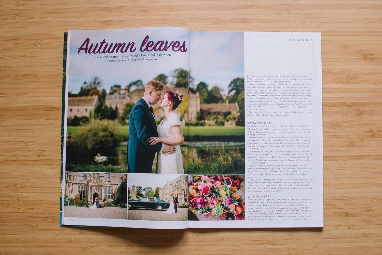 Your Bristol & Somerset Wedding Magazine feature - Nisha Haq Photography