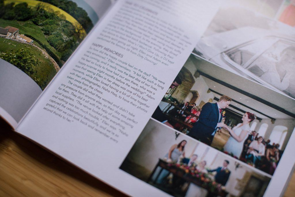 Your Bristol & Somerset Wedding Magazine feature - Nisha Haq Photography