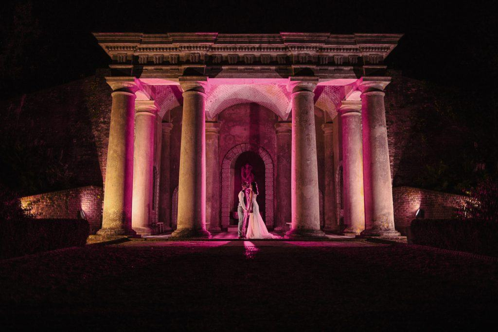 Night time portrait - Wotton House Surrey, Nisha Haq Photography