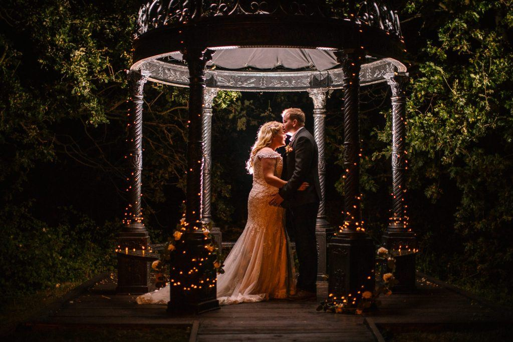 Nigh time portrait - Tournerbury Woods Wedding, Hampshire - Nisha Haq Photography