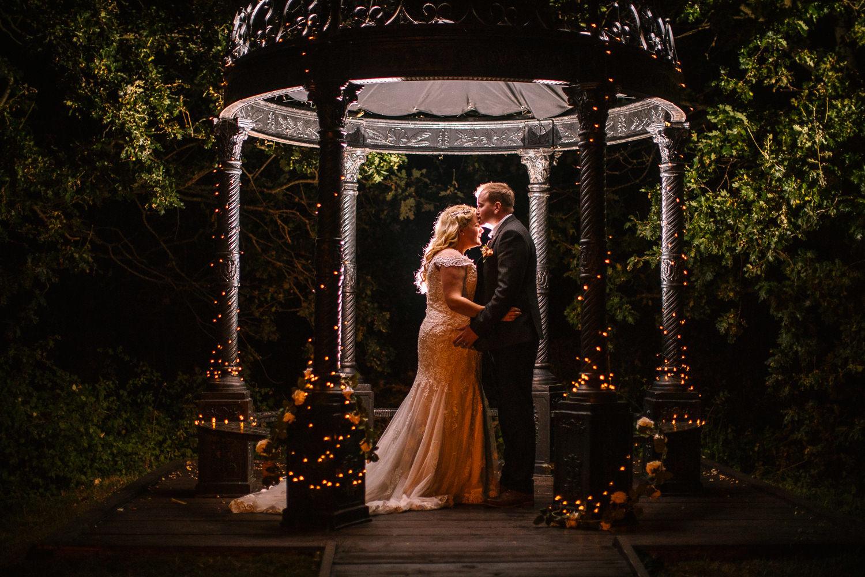 Nigh time portrait - Tournerbury Woods Wedding, Hampshire - Nisha Haq Photography