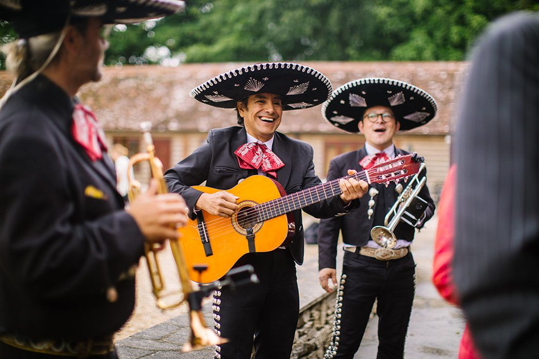 Mariachi Band Smiling - Nisha Haq Photography