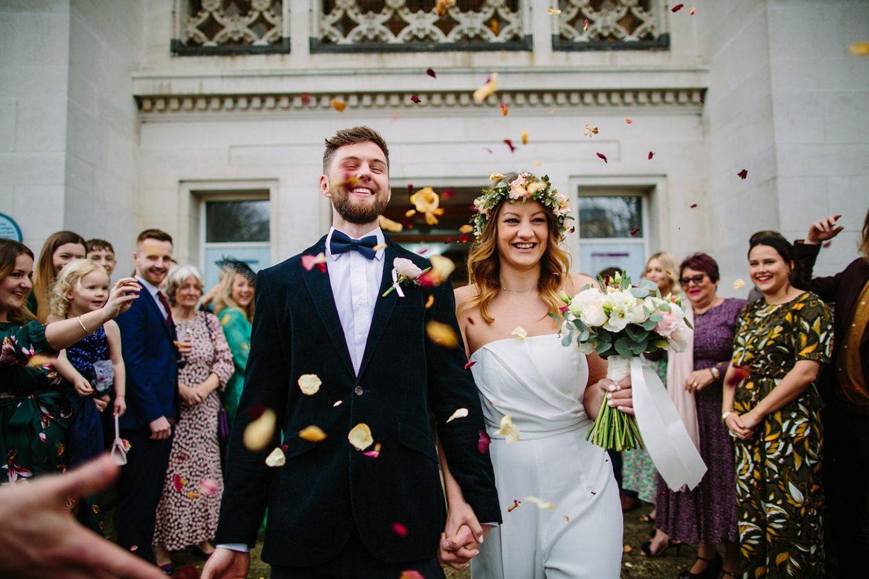 Southampton City Art Gallery & Gins Barn Beaulieu Spring Wedding