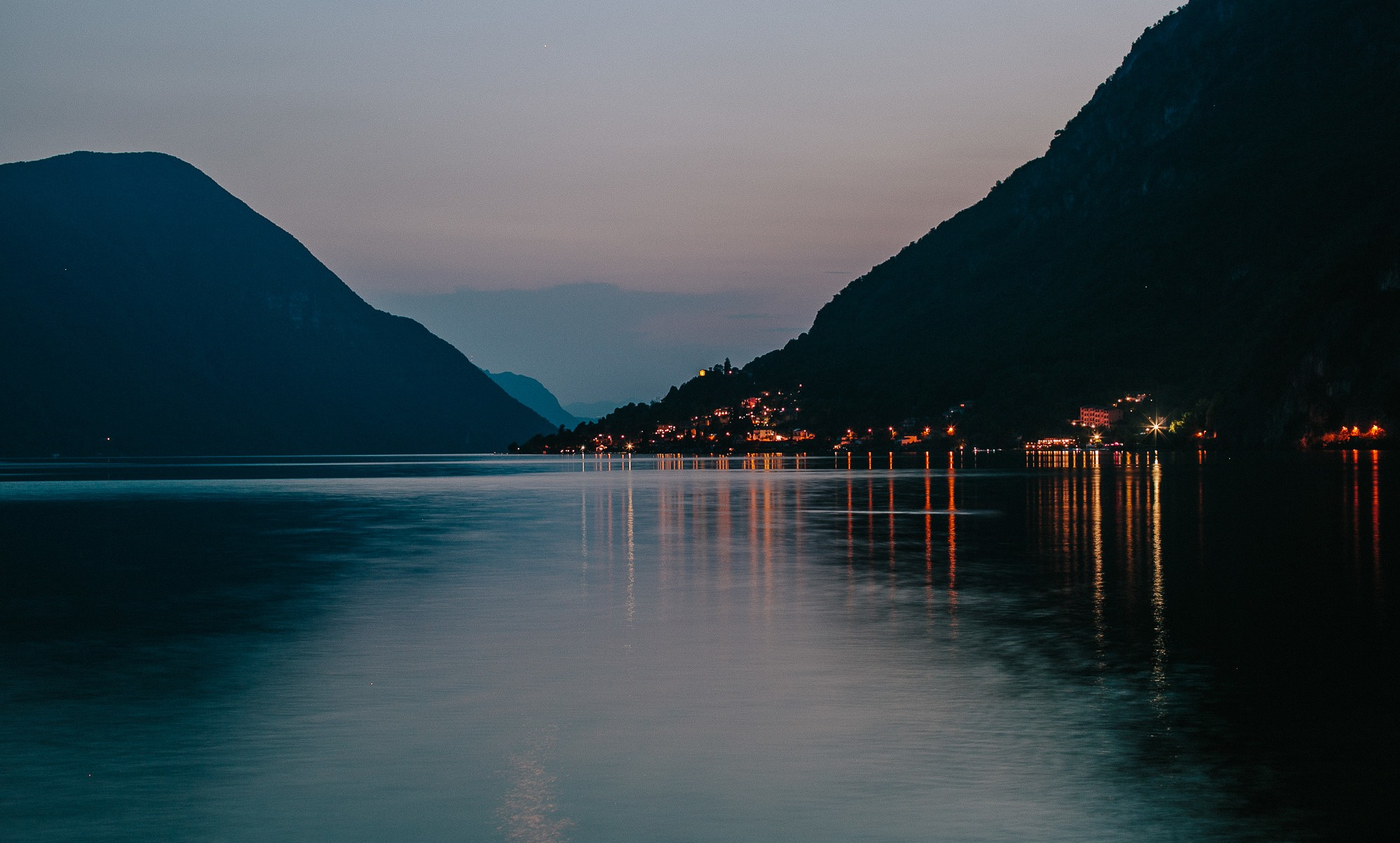 Lake Lugano, Italy - Nisha Haq Photography