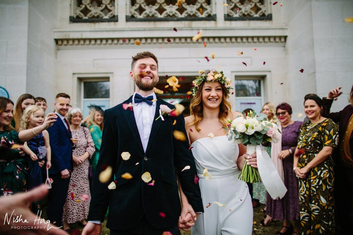 Southampton City Art Gallery Hampshire Confetti - Nisha Haq Photography